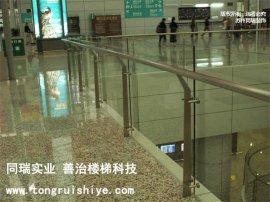 工程楼梯栏杆 不锈钢玻璃楼梯扶手 厂家直销定制
