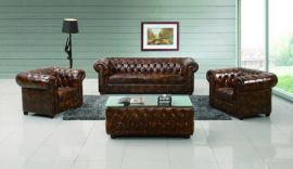 佛山欧式新古典切斯特菲尔德沙发酒店影楼沙发复古拉扣沙发组合沙发A073