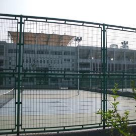 球场围栏勾花网体育场护栏网 场地围网 铁丝网绿色