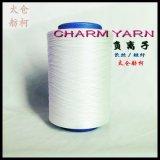 負離子纖維、負離子絲、負離子、75D/72F、品牌:  CHARM YARN