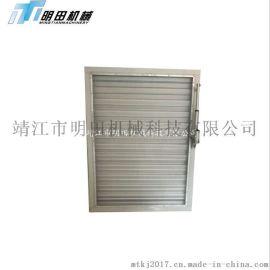 铝合金风口空调百叶 单层条形百叶回风口门 铰检修口百叶窗通风口