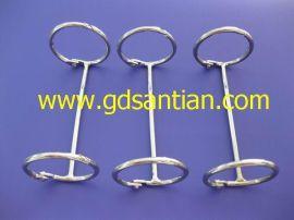 2孔3孔台历圈,台历环,亚克力铁环
