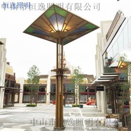 户外景观灯不锈钢造型灯公园街道路照明灯景观灯柱