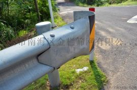 省道防撞波形护栏 热镀锌护栏板 肇庆公路W型板安装