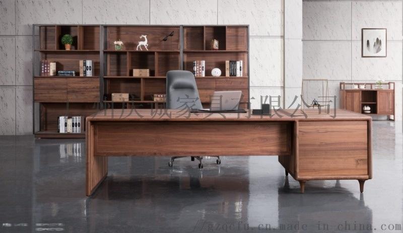 实木油漆大班台,老板桌,豪华大气