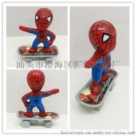 回力滑板蜘蛛侠