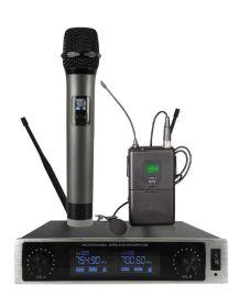 优声/MDL一拖二无线麦克风 KTV包房婚庆舞台无线话筒 EM-2035G3