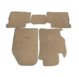 【厂家直销】供应马自达6丙纶汽车地毯绒面汽车脚垫