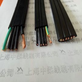 上海中柔线缆YFFB3*2.5行车起重机专用耐弯曲型扁电缆