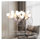 中山批發現代簡約鐵藝吊線燈 空中小鳥創意吊燈 客廳餐廳裝飾燈具
