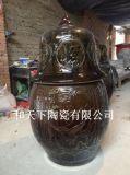 陶瓷和尚坐化缸 高僧用羽化缸生產廠家