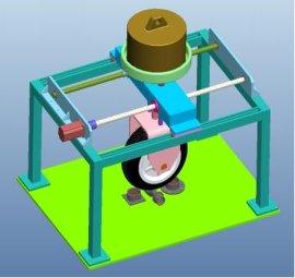 厂家嘉仪供应GB20234电动汽车充电桩碾压寿命试验机