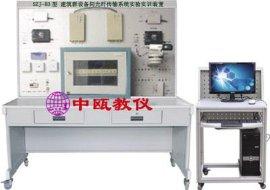 SZJ-B3型 建筑群设备间光纤传输系统实验实训装置