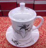 瓷器杯子批發促銷價定製陶瓷辦公杯茶杯量身定做骨瓷禮品杯子