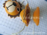硅胶犀利康卡通立体狮子移动电源数据线绕线整理器