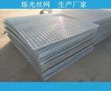 广东加工定做各种规格镀锌碰焊网铁丝网 镀锌网片