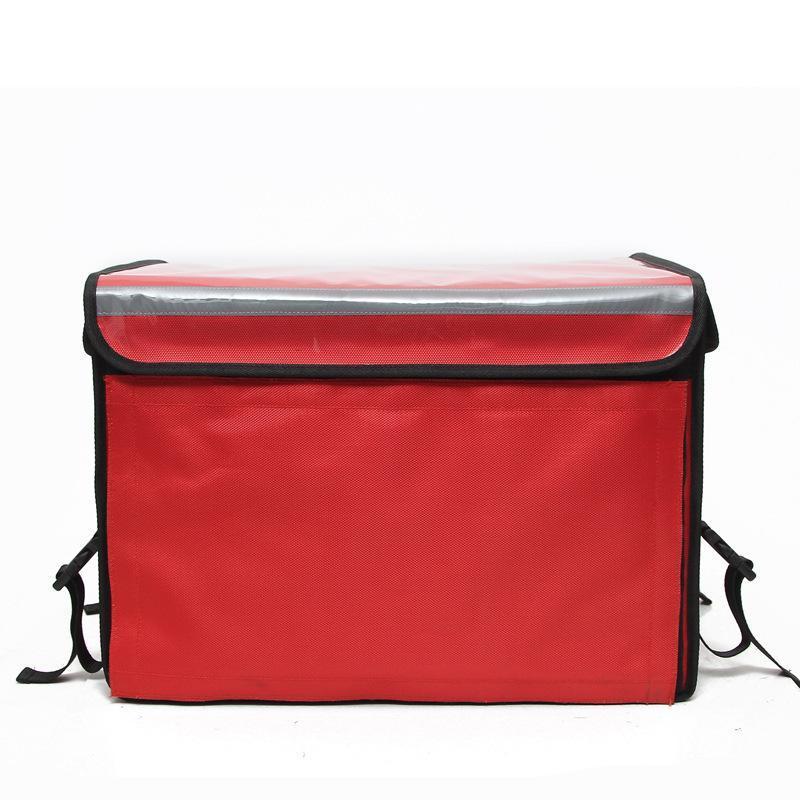 方振箱包专业定制55L大容量牛津布快餐外卖配送箱 冷藏保鲜箱包