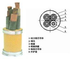 煤矿用移动阻燃软电缆 (MY/MYP)