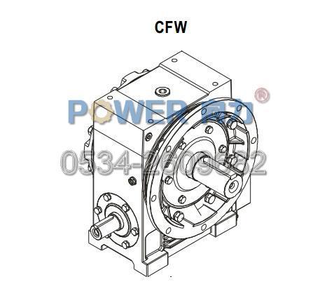 CFW蜗轮减速器|向力牌