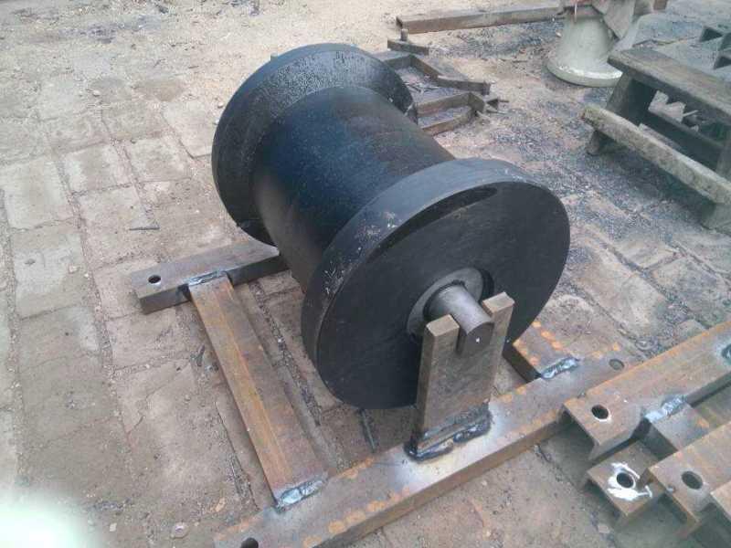 矿山变坡点 井口专用 地滚轮 300x300