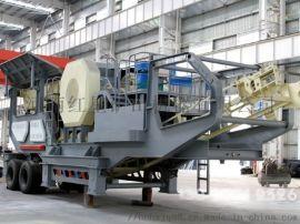 广州日产2000吨建筑垃圾移动破碎站生产线MYK69