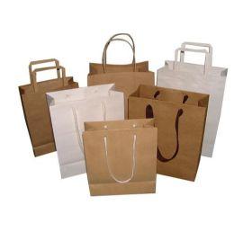 厂家直销环保购物纸袋定做 创意服装手提纸袋定制