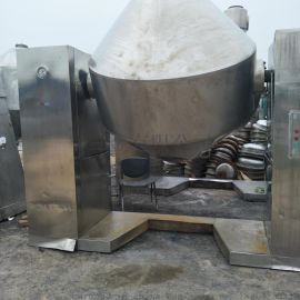 转让二手2000L不锈钢真空回转干燥机