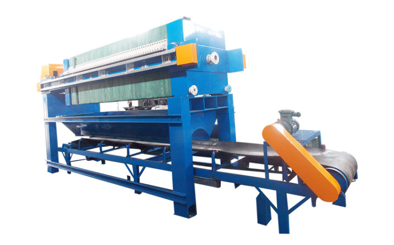 高效污泥处理设备 翔源翻板接液全自动厢式压滤机