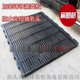 生产制造商质保终生球墨铸铁漏粪板,漏粪地板厂家