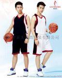 深圳加工男女球隊球衣籃球比賽訓練服定製印字印號