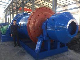 金矿时产5吨球磨机选矿设备厂家 恒宏湿式球磨机