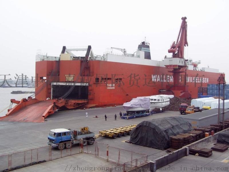 天津美国货运, 美国天津海运
