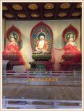 佛教西方三圣生漆脱胎佛像厂家 西方三圣脱胎佛像