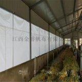 定制养殖场防晒布 遮阳保温布 猪场遮阳布厂家