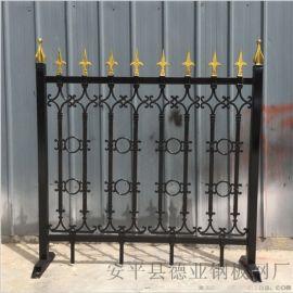 铸铁护栏生产厂家生态园球墨铸铁围栏小区铁艺栏杆
