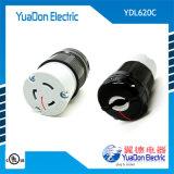 美标电源插座 美式引挂式插座 大功率美式插头插座