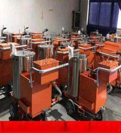 广东潮州市小型马路划线机划线机马路划线涂料厂家价格