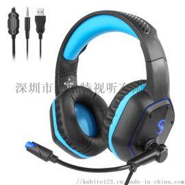 头戴PS4游戏耳机电竞耳机X-BOX 电竞专用