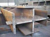四川热轧焊接H型钢十字柱箱型柱生产加工厂家