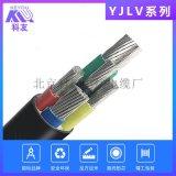 科讯线缆YJLV4*10+1*6电线铝芯电力电缆