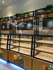 面包边柜-面包柜-面包展示柜生产厂家--宏发展柜