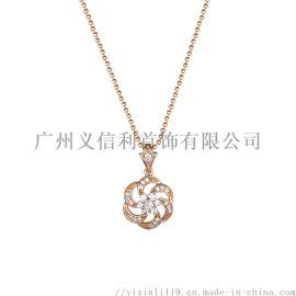 2019新款925银,铜,珍珠女士项链生产工厂
