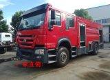 國五8噸泡沫消防車 重汽豪沃系列消防車