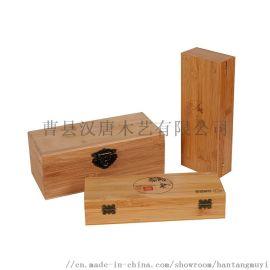 实木包装礼盒定制加工山东曹县木质工艺品木盒厂家