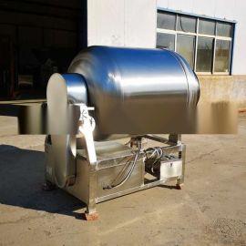 GR-600变频全自动不锈钢滚揉机腊肉腌制机