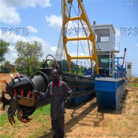 山东绞吸式挖泥船制造商定制清淤设备 小型挖泥船