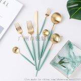 銀貂304不鏽鋼西餐食具刀叉勺筷子牛排刀叉子