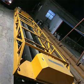 定制3.5-12米滚轴摊铺机 加长起拱架子摊铺机