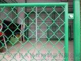 湘潭勾花网厂家 操场绿色围栏 镀锌包塑护栏网
