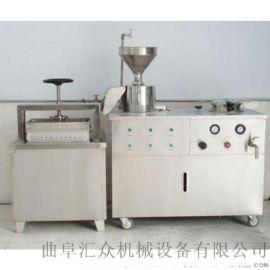 内脂豆腐机 大型豆腐机用途 六九重工全自动豆腐机械